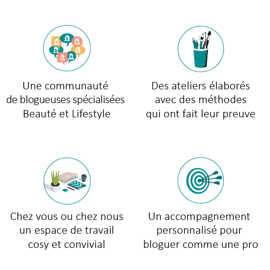 garanties et assurance qualité de l'atelier des blogueuses